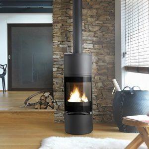 Invicta Alcor Airtight Cast Iron Stove