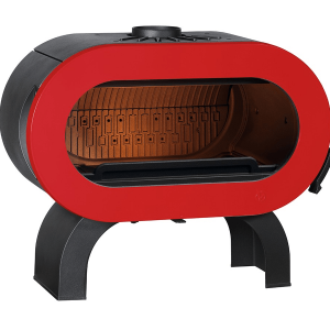 Invicta Fifty Arch cast-iron stove Red Door
